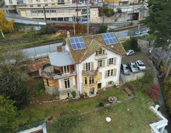 Rénovation et transformation d'une villa à Neuchâtel