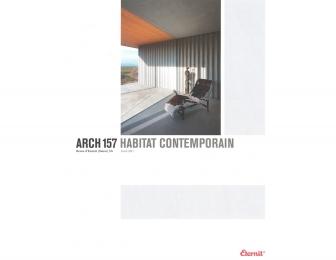 ARCH 157 HABITAT CONTEMPORAIN