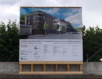 Immeuble de logements à La Chaux-de-Fonds